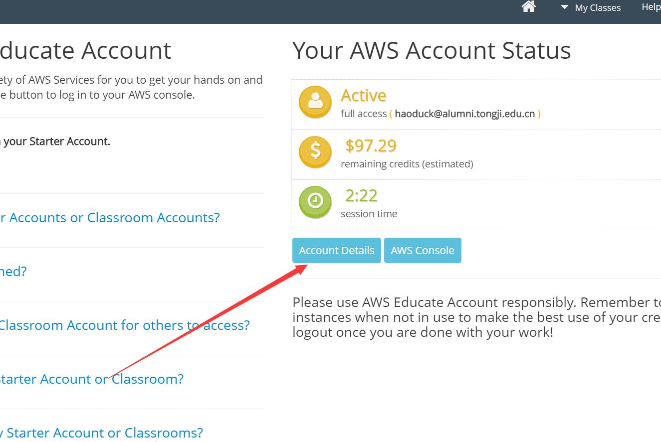 AWS Educate Starter Account(教育AWS)的CloudFront(CDN)使用AWSCLI上传SSL证书教程